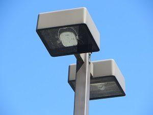 LED parking lot light retrofit