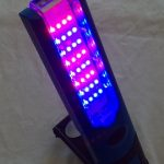 Hand Held Red Blue Light Therapy Tool