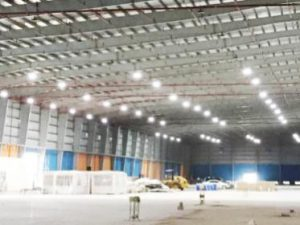 High Bay LED Installation