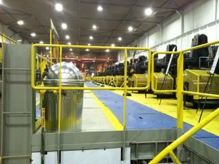 Steel Plant LED Lighting