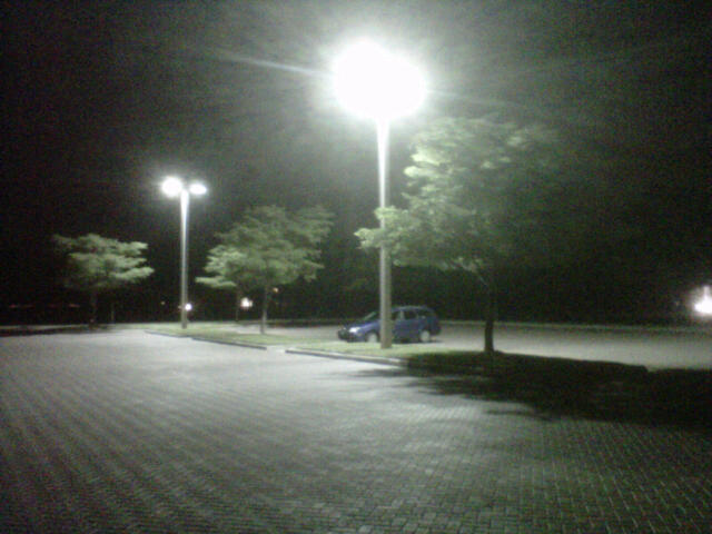 400W LED Parking Lot Retrofit