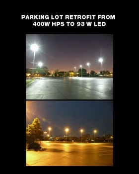 church parking lot lights