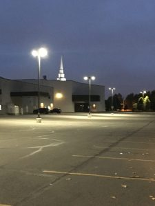Parking lot church update