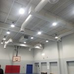 High Bay LED Retrofit Gym Lighting