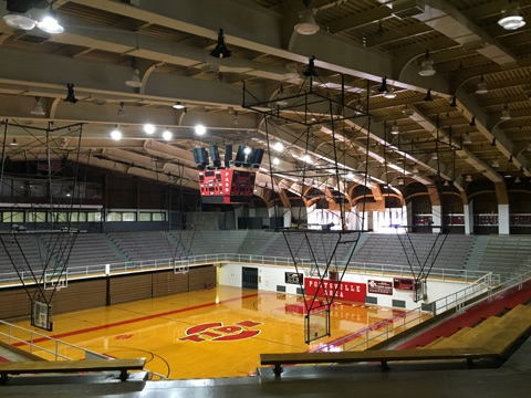 High School Gym LED Retrofit