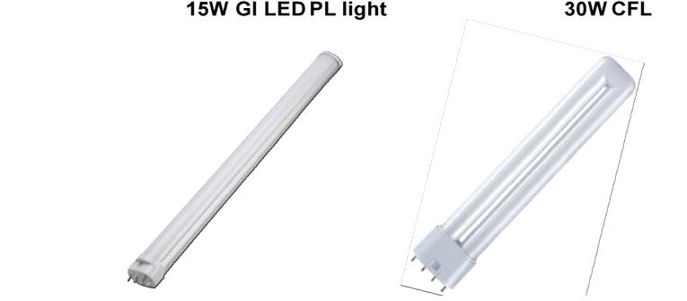 2G11 LED PL Lamp Retrofit