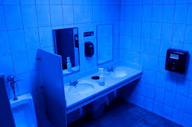 Bacteria Blue Bathroom