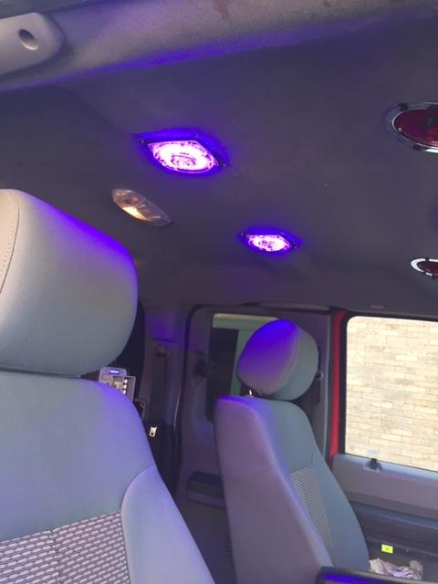 Ambulance Cab Blue Light Technology