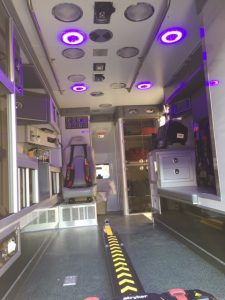 Patient Compartment Blue Light Technology